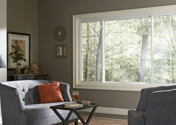 Armstrong Windows - large white residential vinyl replacement windows with Spectrally Selective Glass
