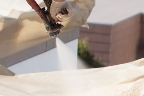 Spf Roofing Insulation For Low Slope Roof Armstrong Foam Roofing