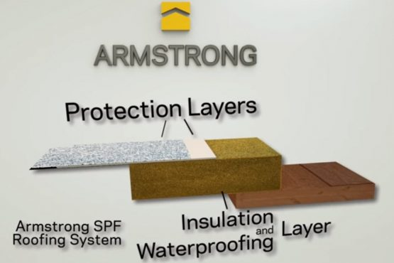 Armstrong Roof Protection Layers Diagram