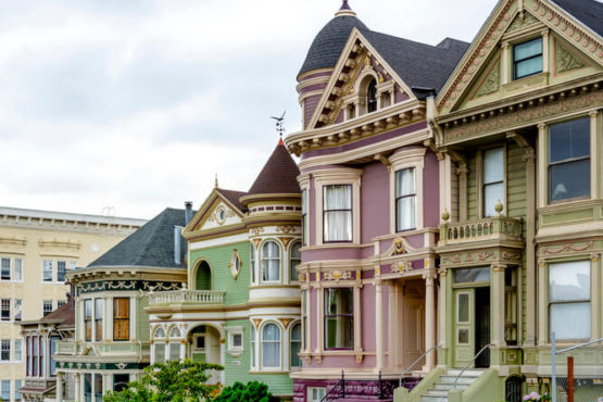 Armstrong Painting - San Fran Homes Victorian homes with Curb Appeal - exterior painting of victorian homes