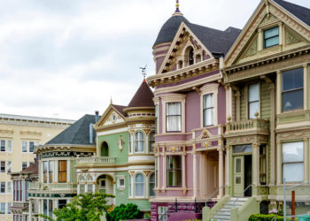 San Francisco Painted Ladies - Armstrong Exterior Painting
