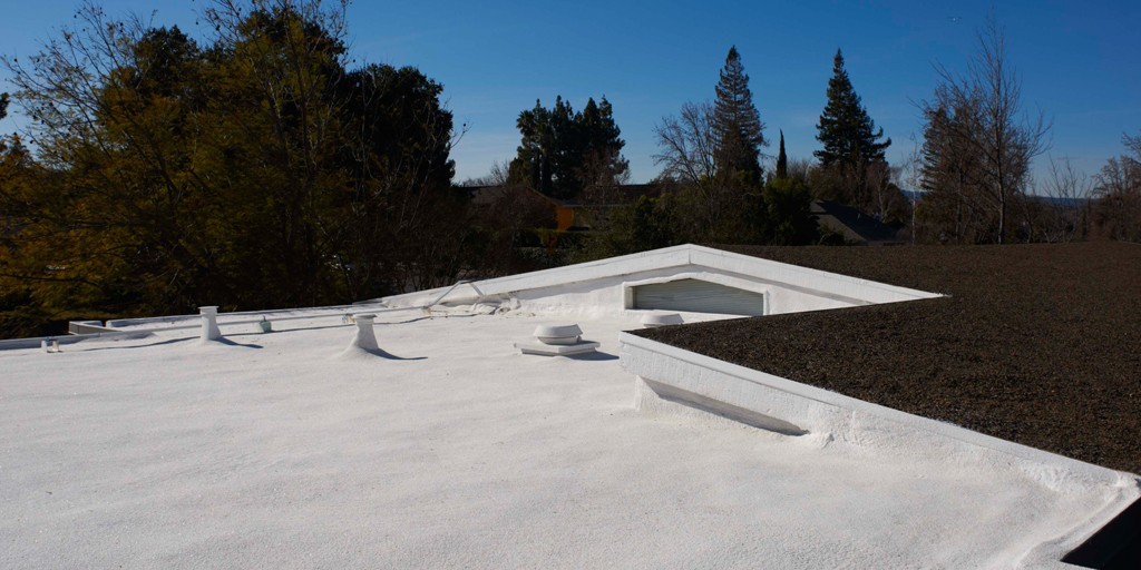 Foam Roofing Photo Gallery